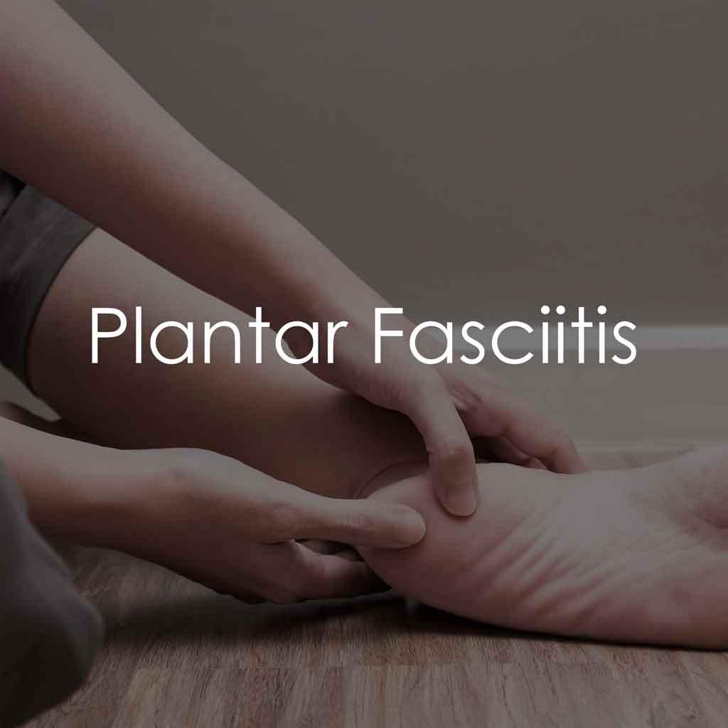 Services - Plantar Fasciitis